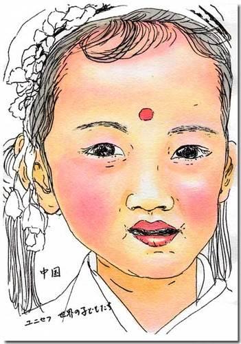 中国の女の子