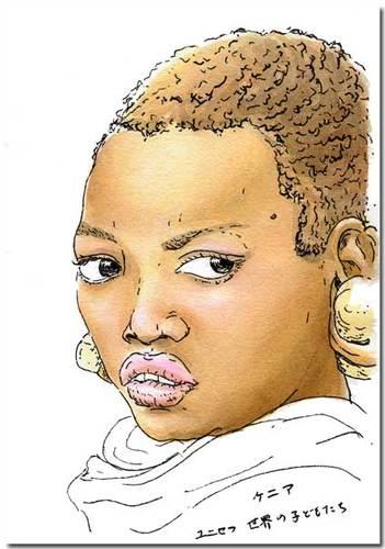ケニアの女の子